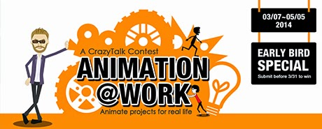 Zappelli Wins Best Creative Entry for the Animation @ Work Competition!!