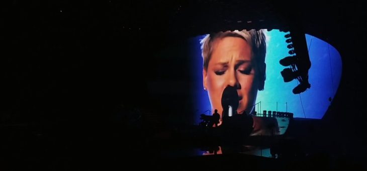 Pink What About Us. Live at TD Garden -Gary Zappelli